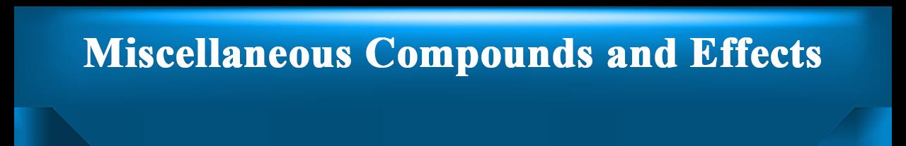 Miscellaneous Compounds – Reid Lofgran